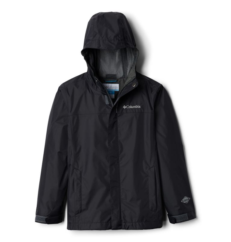 Watertight™ Jacket | 010 | XS Boys' Watertight™ Jacket, Black, front