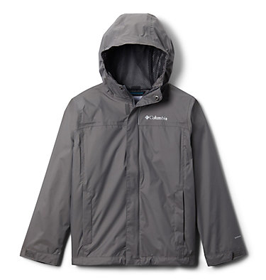 Boys' Watertight™ Jacket Watertight™ Jacket | 099 | L, City Grey, front