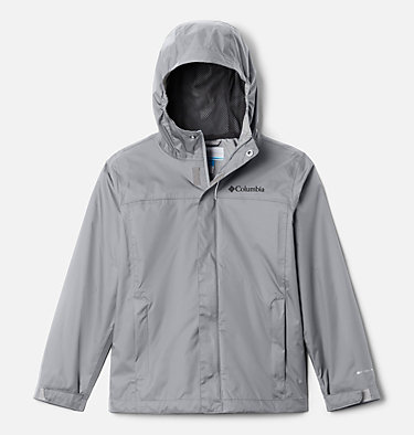 Boys' Watertight™ Jacket Watertight™ Jacket | 099 | L, Columbia Grey, front