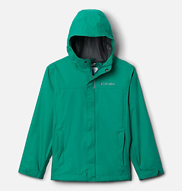 Boys' Watertight™ Jacket Watertight™ Jacket | 099 | L, Emerald Green, front