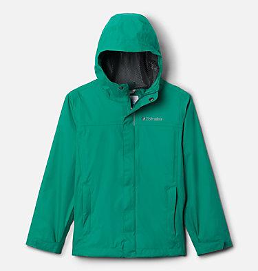 Boys' Watertight™ Jacket Watertight™ Jacket | 010 | XXS, Emerald Green, front