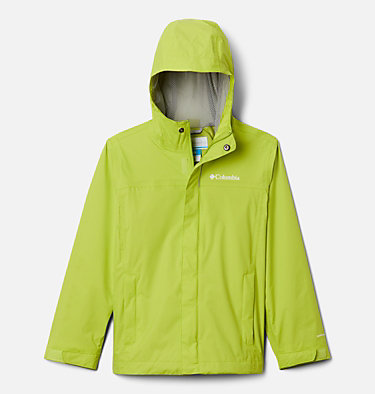 Boys' Watertight™ Jacket Watertight™ Jacket | 010 | XXS, Bright Chartreuse, front