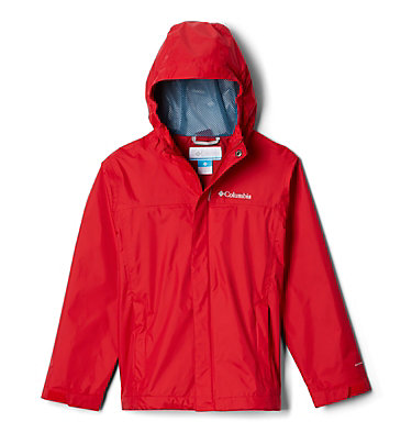 Boys' Watertight™ Jacket Watertight™ Jacket | 363 | M, Mountain Red, front