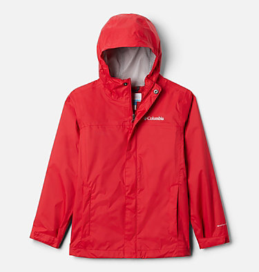 Boys' Watertight™ Jacket Watertight™ Jacket | 099 | L, Mountain Red, front