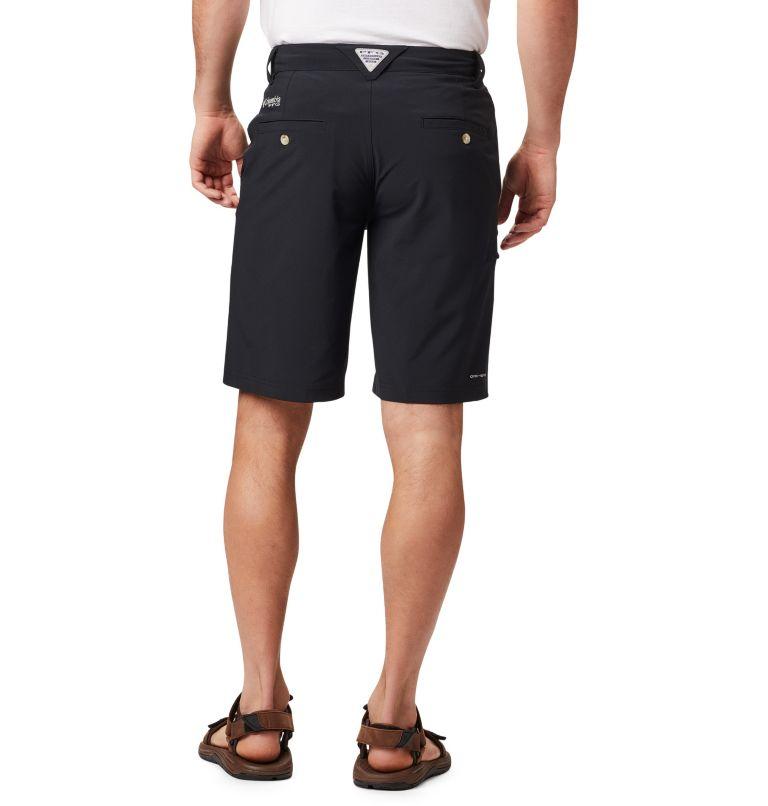 Grander Marlin™ II Offshore Short | 010 | 34 Men's PFG Grander Marlin™ II Offshore Shorts, Black, back
