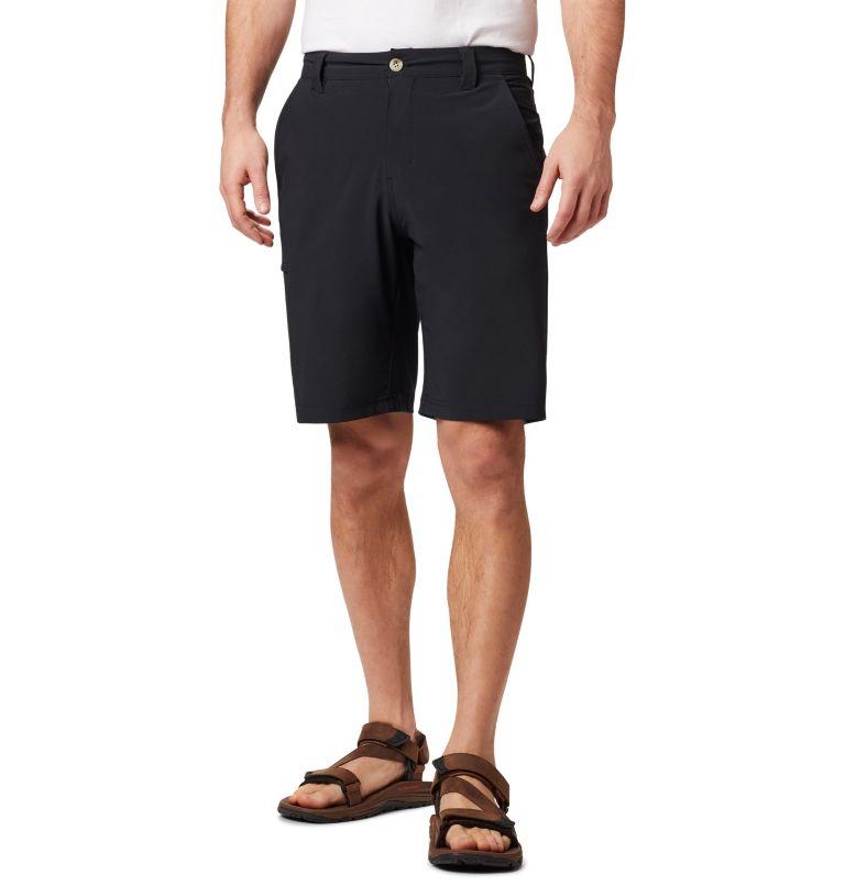 Grander Marlin™ II Offshore Short | 010 | 34 Men's PFG Grander Marlin™ II Offshore Shorts, Black, front