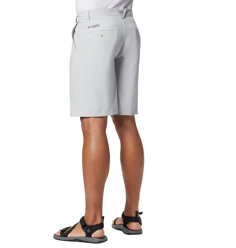 Grander Marlin™ II Offshore Short | 019 | 40 Men's PFG Grander Marlin™ II Offshore Shorts, Cool Grey, back