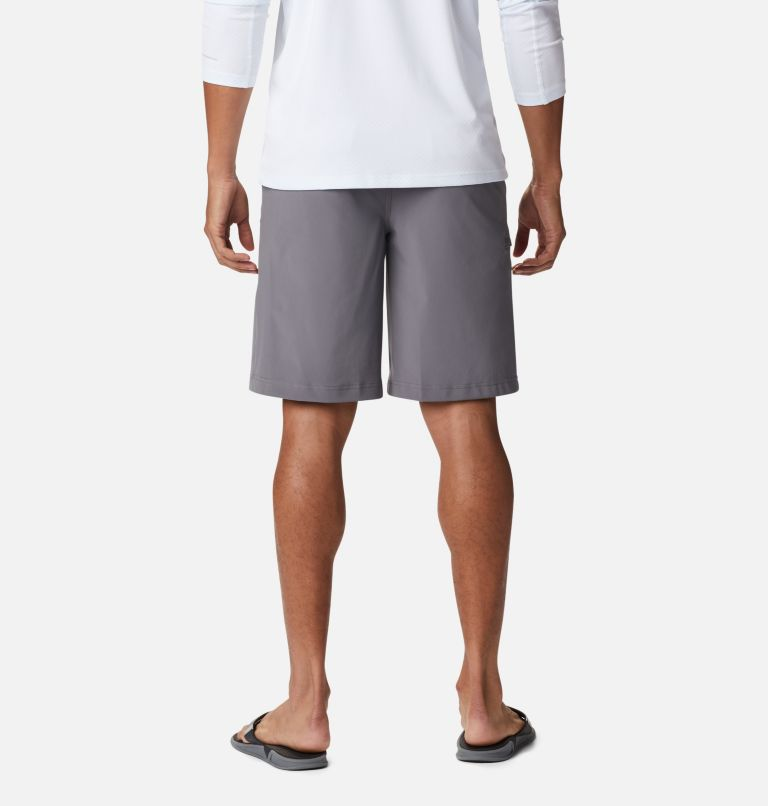 Grander Marlin™ II Offshore Short | 023 | 38 Men's PFG Grander Marlin™ II Offshore Shorts, City Grey, back