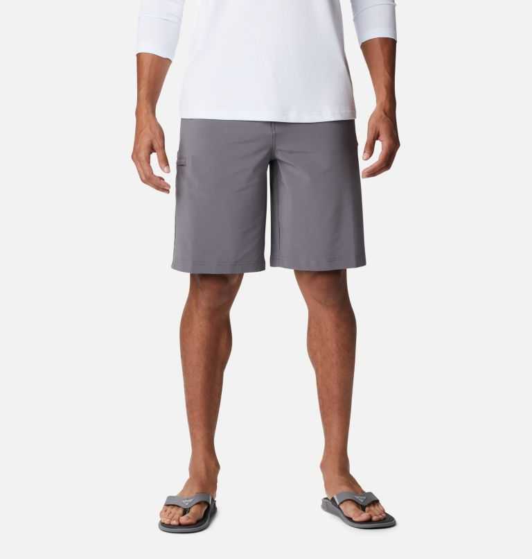 Grander Marlin™ II Offshore Short | 023 | 40 Men's PFG Grander Marlin™ II Offshore Shorts, City Grey, front