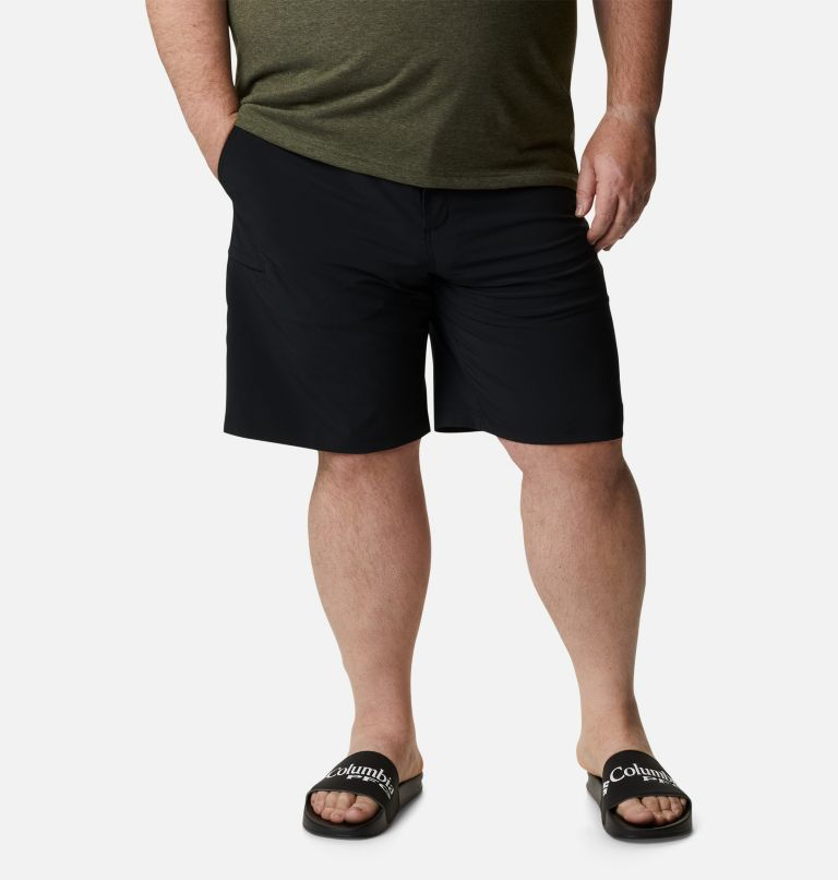 Grander Marlin™ II Offshore Short | 010 | 46 Men's PFG Grander Marlin™ II Offshore Shorts - Big, Black, front