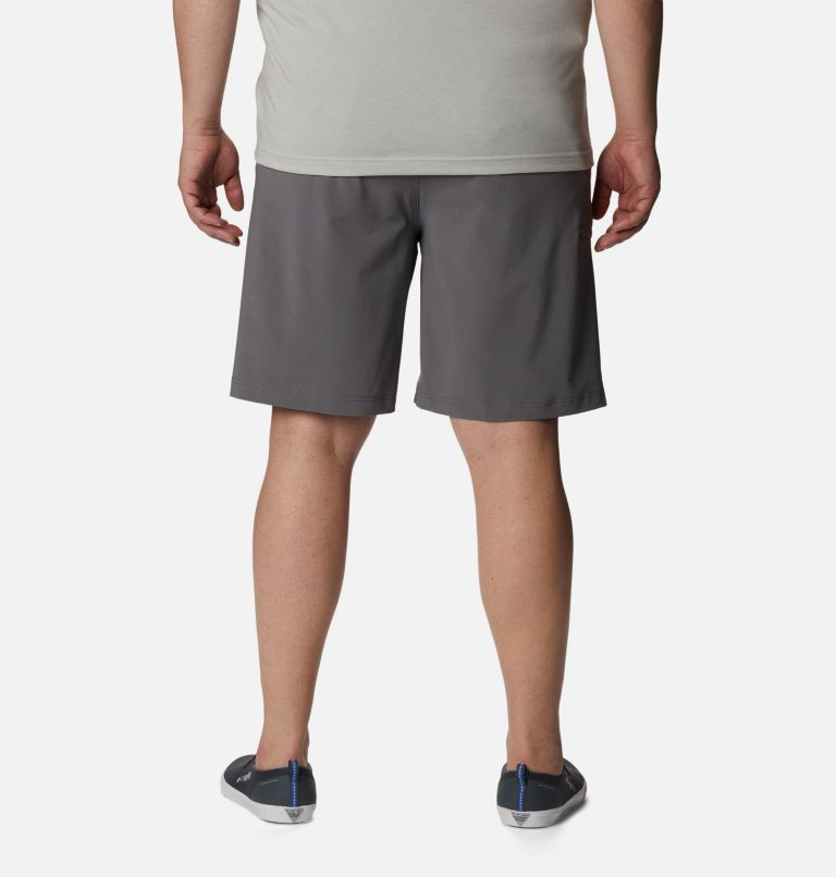 Grander Marlin™ II Offshore Short | 023 | 52 Men's PFG Grander Marlin™ II Offshore Shorts - Big, City Grey, back