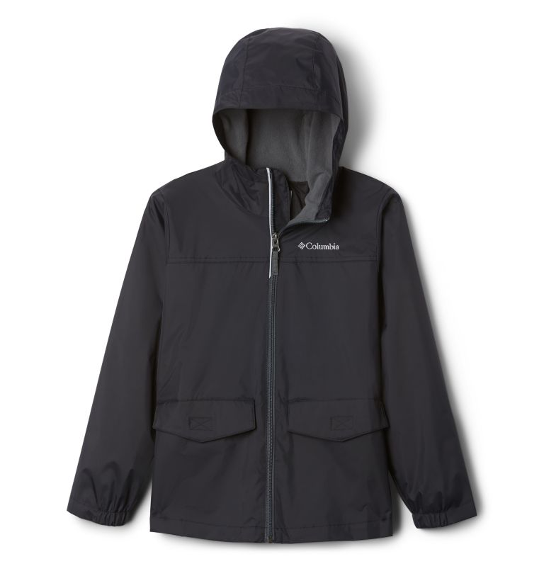Rain-Zilla™ Jacket   015   L Boys' Rain-Zilla™ Jacket, Black, front