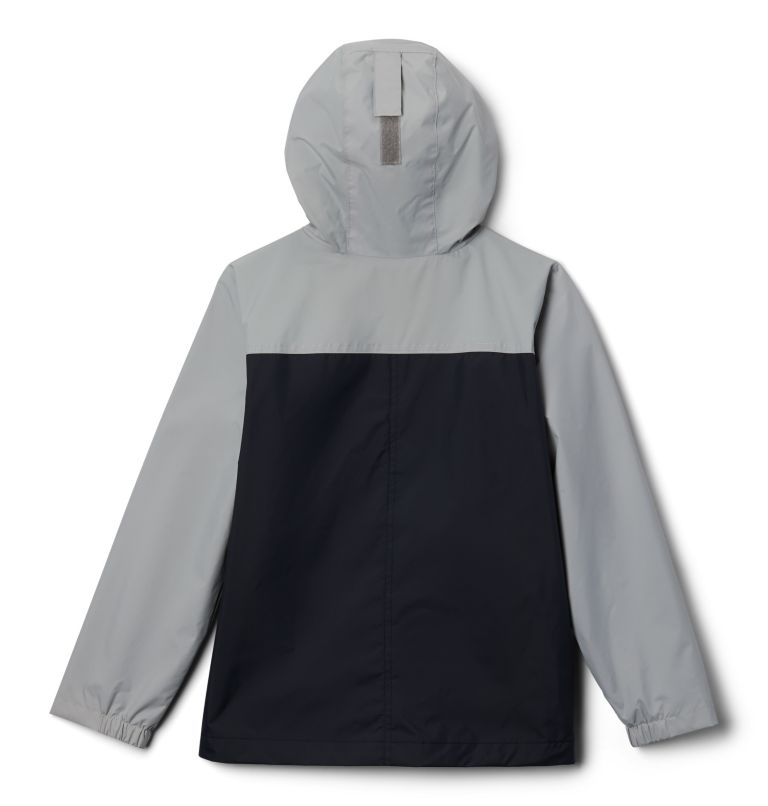 Rain-Zilla™ Jacket | 016 | XXS Boys' Rain-Zilla™ Jacket, Black, Columbia Grey, back