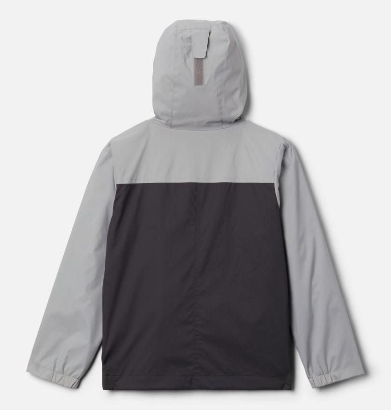 Rain-Zilla™ Jacket   017   S Boys' Rain-Zilla™ Jacket, Shark, Columbia Grey, back