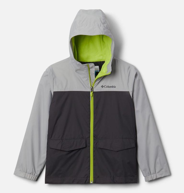 Rain-Zilla™ Jacket   017   S Boys' Rain-Zilla™ Jacket, Shark, Columbia Grey, front