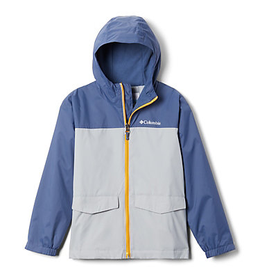 Boys' Rain-Zilla™ Jacket Rain-Zilla™ Jacket | 016 | L, Columbia Grey, Dark Mountain, front