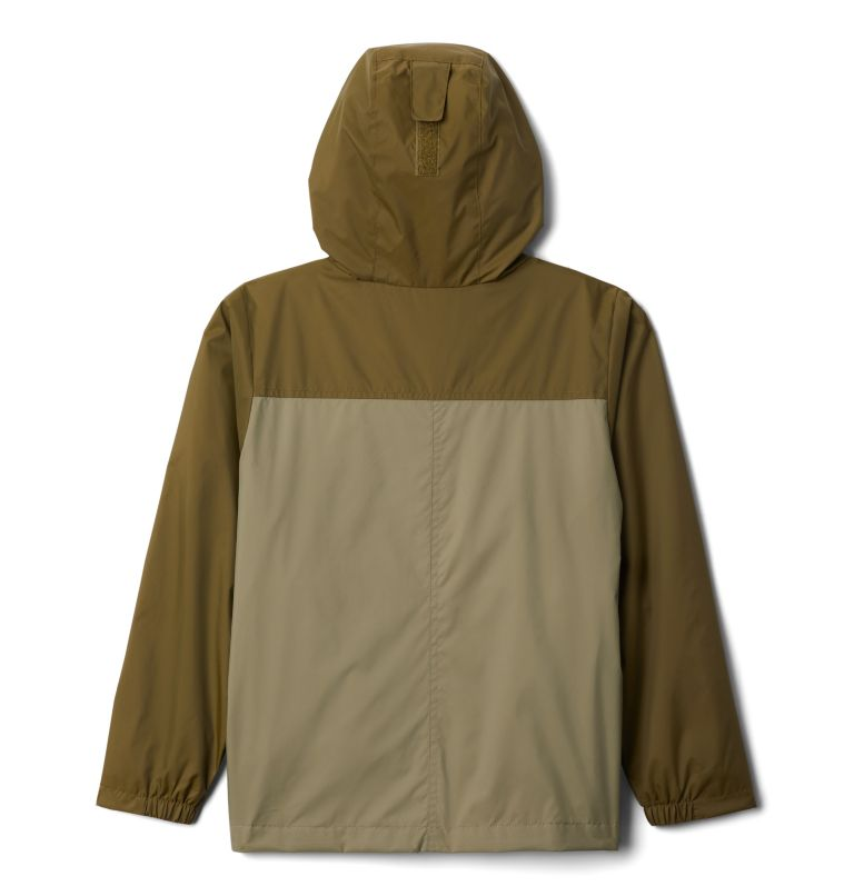 Rain-Zilla™ Jacket | 328 | M Boys' Rain-Zilla™ Jacket, New Olive, Stone Green, back