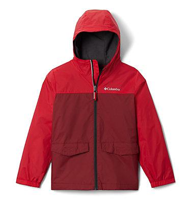 Veste Rain-Zilla™ pour garçon Rain-Zilla™ Jacket   016   L, Red Jasper, Mountain Red, front
