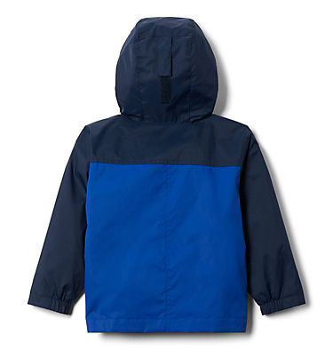 Boys' Toddler Rain-Zilla™ Jacket Rain-Zilla™ Jacket | 664 | 2T, Azul, Collegiate Navy, back