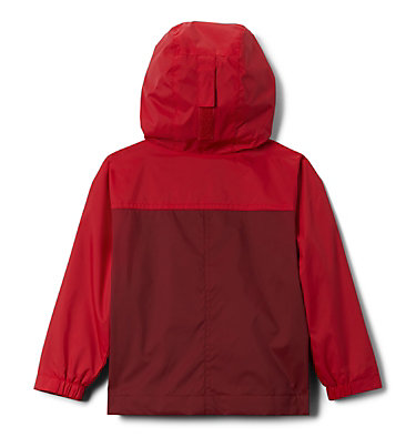 Boys' Toddler Rain-Zilla™ Jacket Rain-Zilla™ Jacket | 664 | 2T, Red Jasper, Mountain Red, back