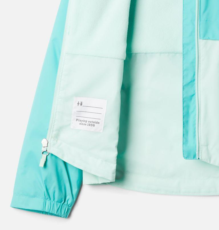 Rain-Zilla™ Jacket | 356 | XL Girls' Rain-Zilla™ Jacket, Dolphin, Sea Ice, a1