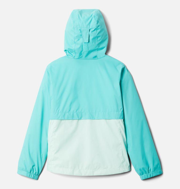 Rain-Zilla™ Jacket | 356 | XL Girls' Rain-Zilla™ Jacket, Dolphin, Sea Ice, back