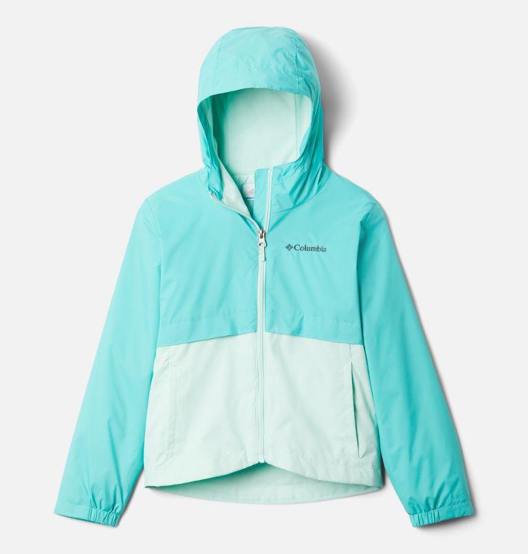 Rain-Zilla™ Jacket | 356 | XL Girls' Rain-Zilla™ Jacket, Dolphin, Sea Ice, front