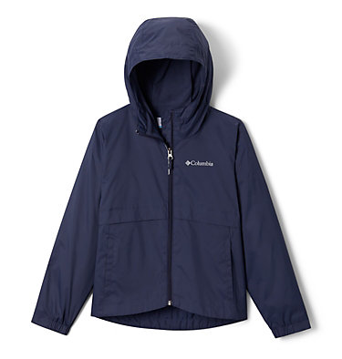 Girls' Rain-Zilla™ Jacket Rain-Zilla™ Jacket | 468 | XS, Nocturnal, front