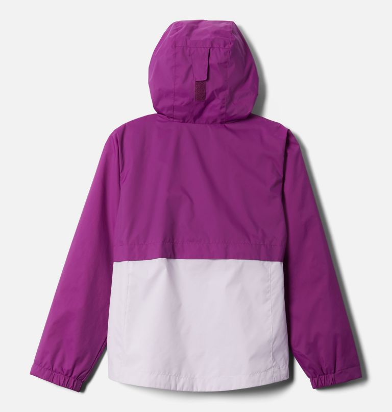 Rain-Zilla™ Jacket | 575 | L Girls' Rain-Zilla™ Jacket, Plum, Pale Lilac, back