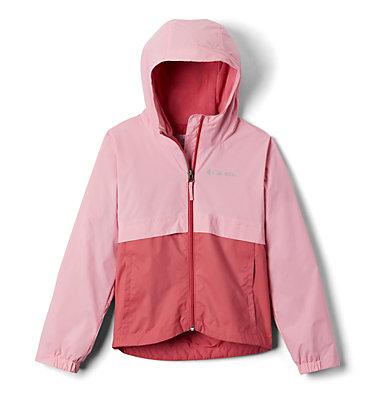 Girls' Rain-Zilla™ Jacket Rain-Zilla™ Jacket | 468 | XS, Rouge Pink, Pink Orchid, front