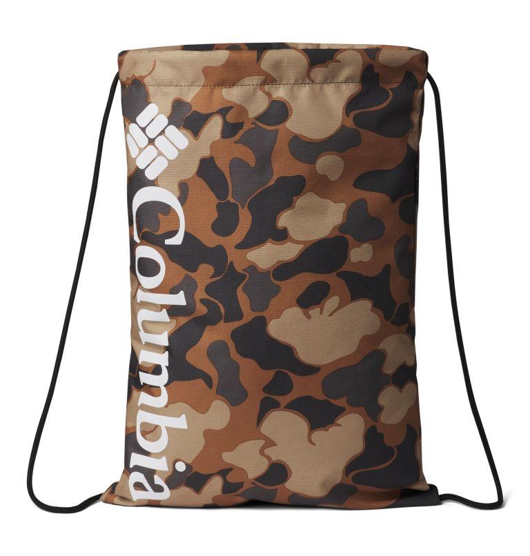 Columbia Drawstring™ Bag | 224 | O/S Columbia Drawstring Bag, Camel Brown Ibex Camo, White, front