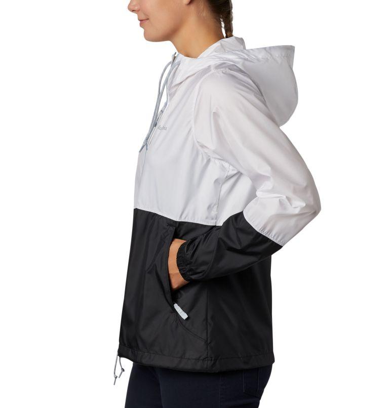 Flash Forward™ Windbreaker | 101 | XS Women's Flash Forward™ Windbreaker Jacket, White, Black, a1