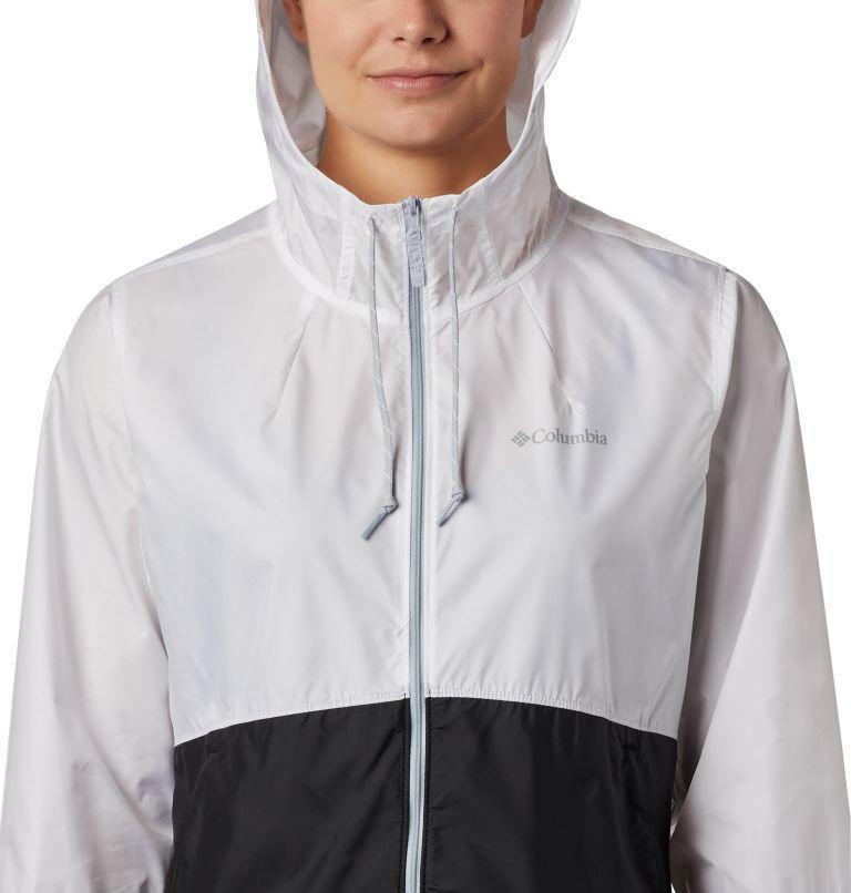 Flash Forward™ Windbreaker | 101 | XS Women's Flash Forward™ Windbreaker Jacket, White, Black, a2