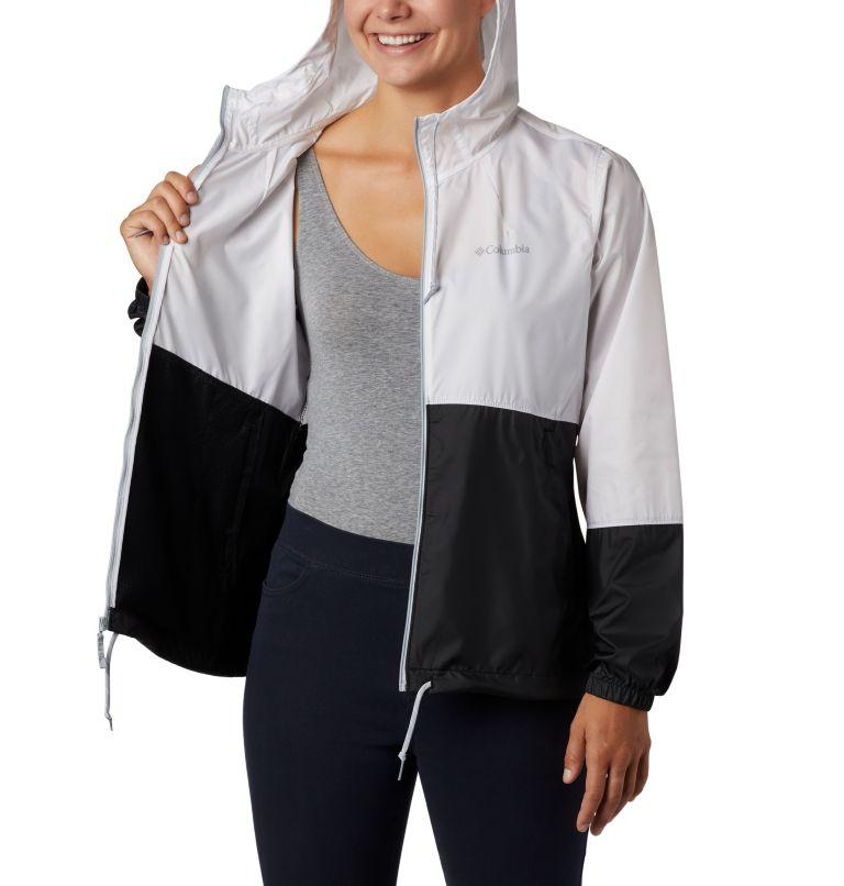 Flash Forward™ Windbreaker | 101 | XS Women's Flash Forward™ Windbreaker Jacket, White, Black, a3