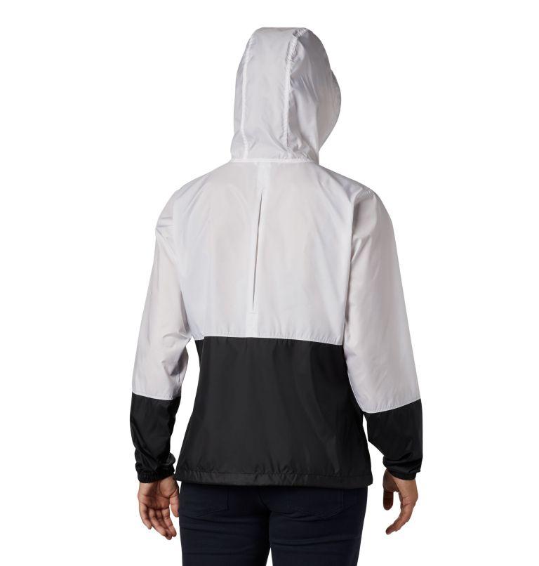 Flash Forward™ Windbreaker | 101 | XS Women's Flash Forward™ Windbreaker Jacket, White, Black, back