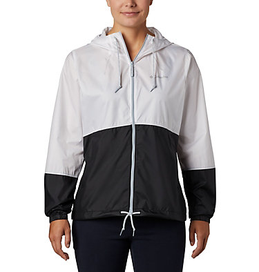 Women's Flash Forward™ Windbreaker  Flash Forward™ Windbreaker | 010 | XS, White, Black, front