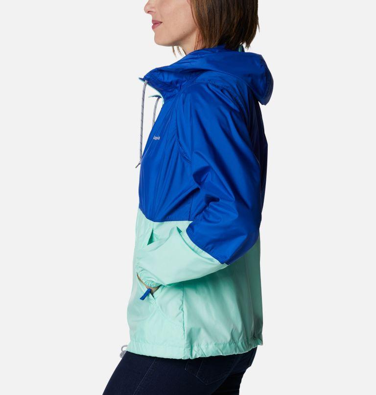 Flash Forward™ Windbreaker | 410 | S Women's Flash Forward™ Windbreaker Jacket, Lapis Blue, Mint Cay, a1