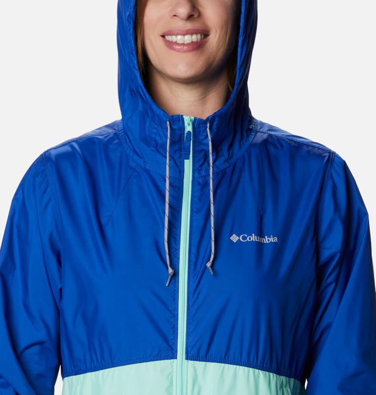 Flash Forward™ Windbreaker | 410 | S Women's Flash Forward™ Windbreaker Jacket, Lapis Blue, Mint Cay, a2