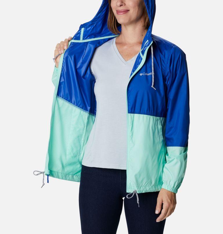 Flash Forward™ Windbreaker | 410 | S Women's Flash Forward™ Windbreaker Jacket, Lapis Blue, Mint Cay, a3