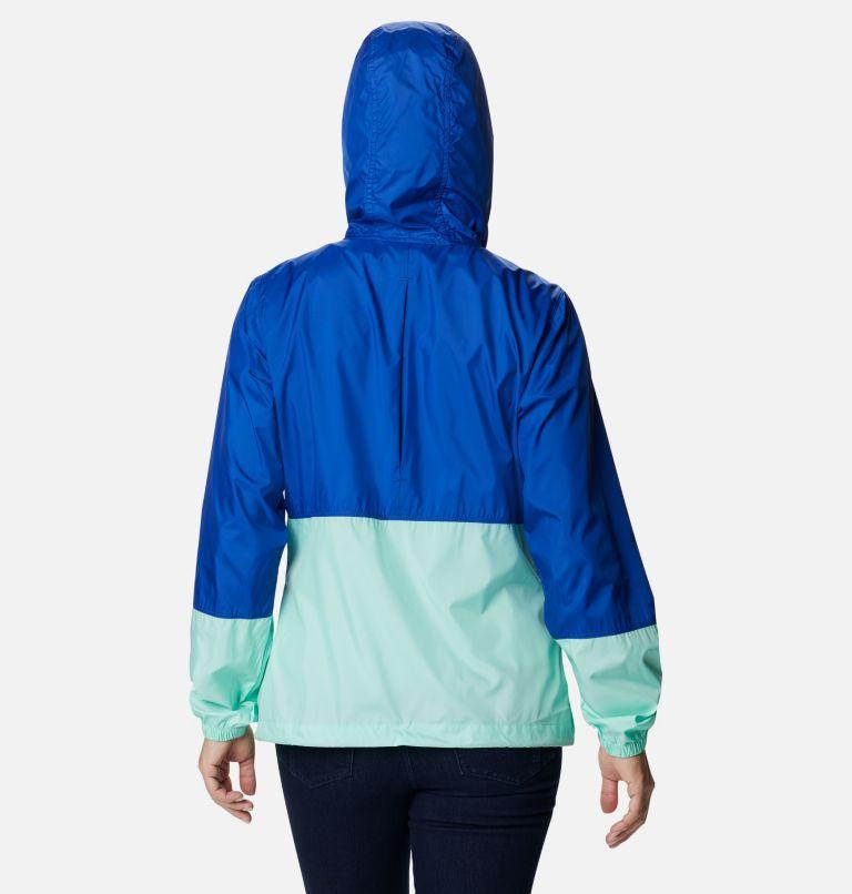 Flash Forward™ Windbreaker | 410 | S Women's Flash Forward™ Windbreaker Jacket, Lapis Blue, Mint Cay, back