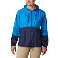 Womens Flash Forward Windbreaker Jacket (Fathom Blue, Nocturnal)