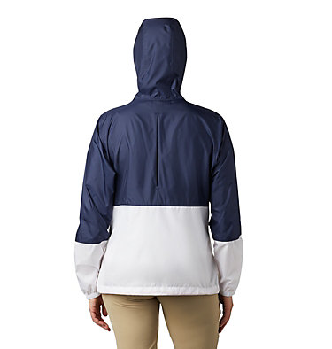 Women's Flash Forward™ Windbreaker  Flash Forward™ Windbreaker | 010 | XS, Nocturnal, White, back
