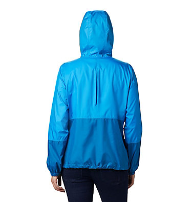 Women's Flash Forward™ Windbreaker Jacket Flash Forward™ Windbreaker | 467 | M, Static Blue, Dark Pool, back