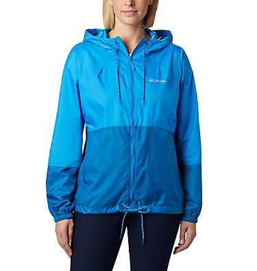 Women's Flash Forward™ Windbreaker Jacket Flash Forward™ Windbreaker | 467 | M, Static Blue, Dark Pool, front