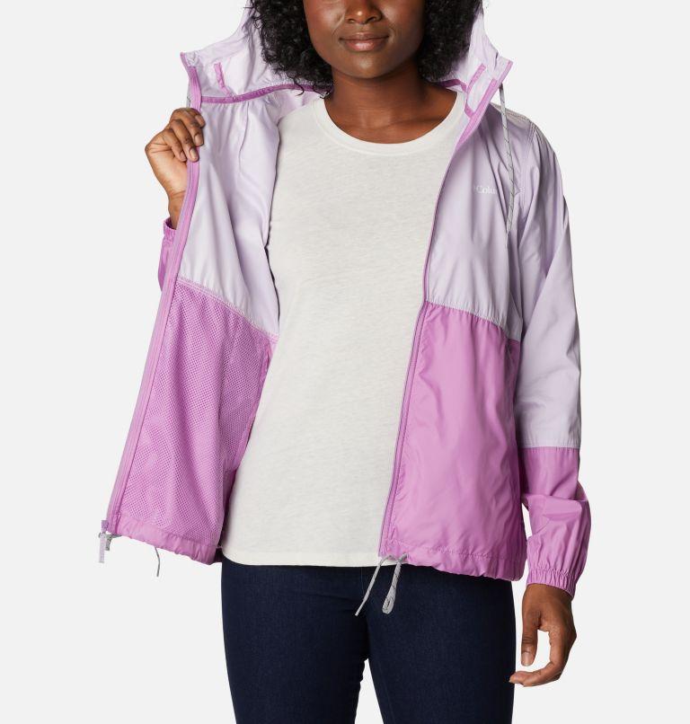 Flash Forward™ Windbreaker | 584 | XL Women's Flash Forward™ Windbreaker Jacket, Pale Lilac, Blossom Pink, a3