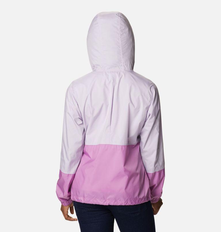 Flash Forward™ Windbreaker | 584 | XL Women's Flash Forward™ Windbreaker Jacket, Pale Lilac, Blossom Pink, back