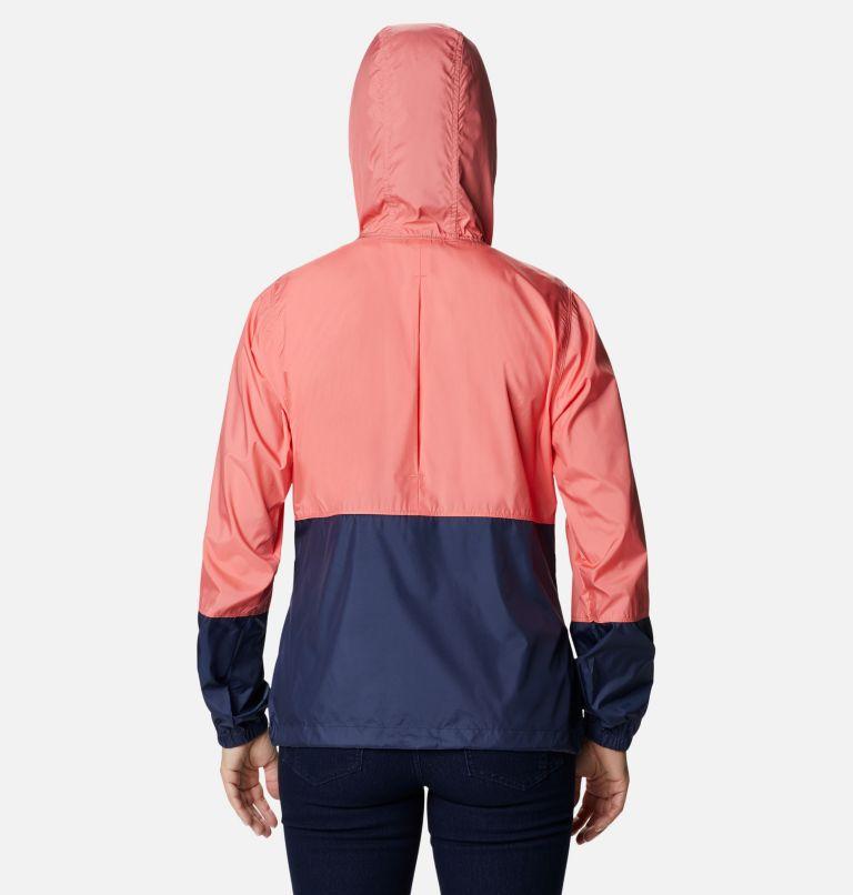 Flash Forward™ Windbreaker | 699 | L Women's Flash Forward™ Windbreaker Jacket, Salmon, Nocturnal, back