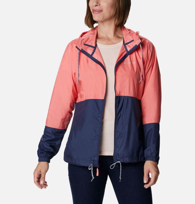 Flash Forward™ Windbreaker | 699 | L Women's Flash Forward™ Windbreaker Jacket, Salmon, Nocturnal, front