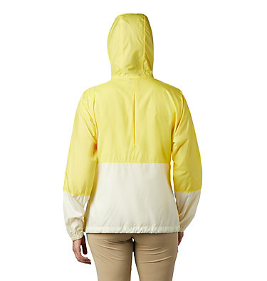Women's Flash Forward™ Windbreaker Jacket Flash Forward™ Windbreaker | 467 | M, Buttercup, Pale Yellow, back