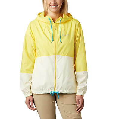 Women's Flash Forward™ Windbreaker Jacket Flash Forward™ Windbreaker | 467 | M, Buttercup, Pale Yellow, front